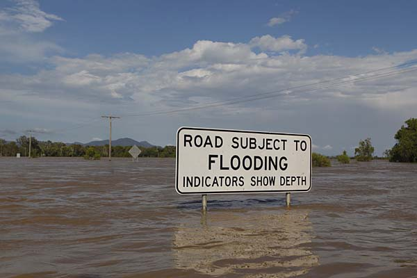 Effects of driving through flood water